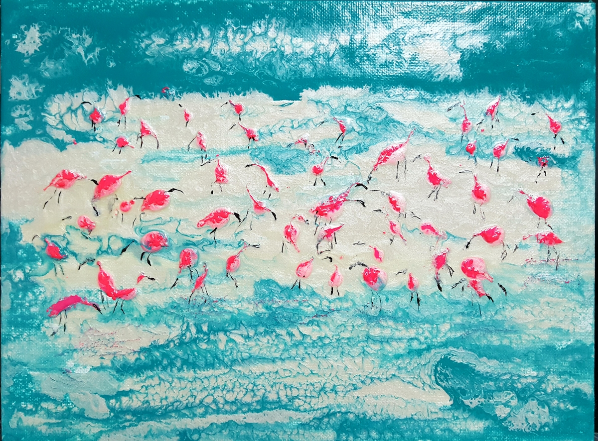 Flamingos and Safe Distancing