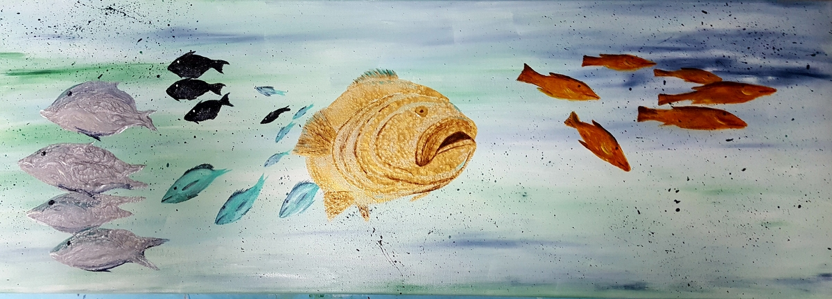 Fish and Social Distancing, SOLD
